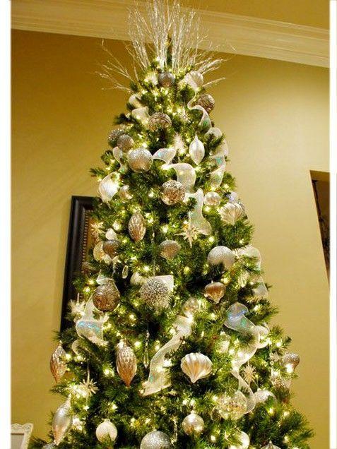 "iVillage Christmas Tree Ideas  ""Winter Wonderland"" (I know its not Christmas tim"