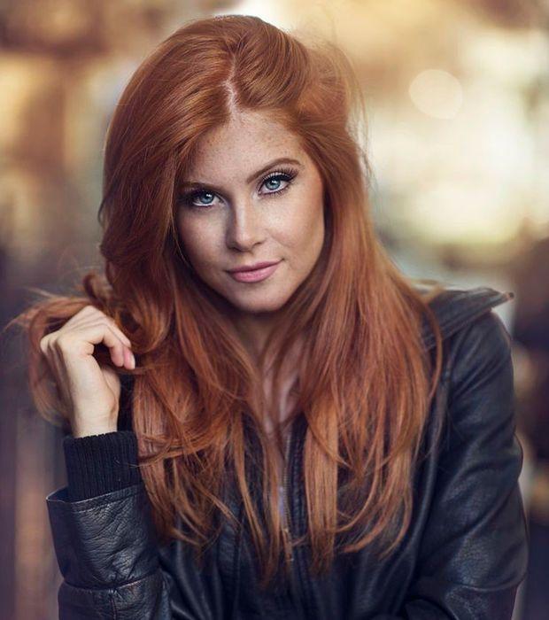differente couleur de cheveux roux coiffures de mode moderne. Black Bedroom Furniture Sets. Home Design Ideas