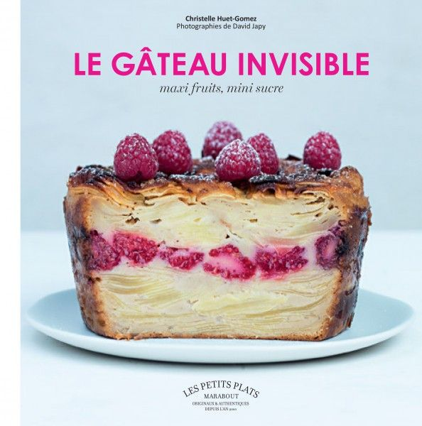 Gâteau invisible citron myrtille