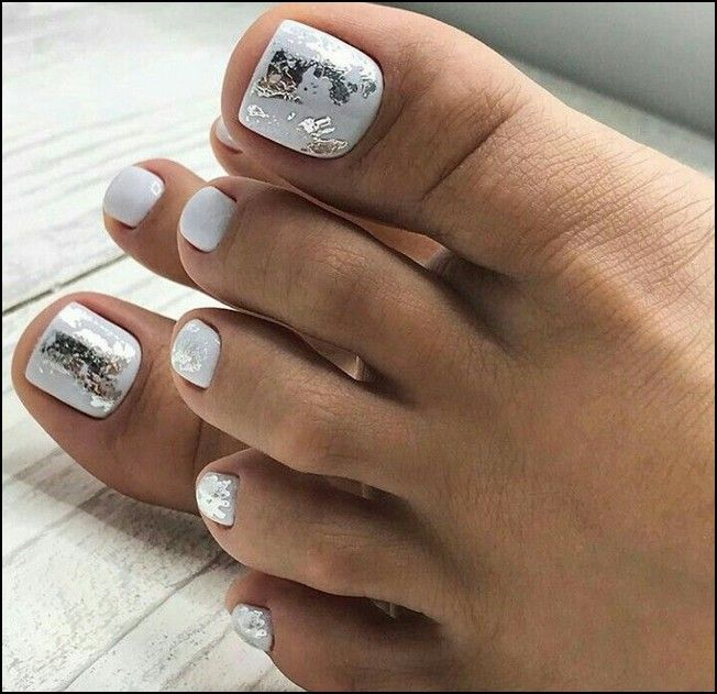 180 eye catching toe nail art ideas you must try page 40