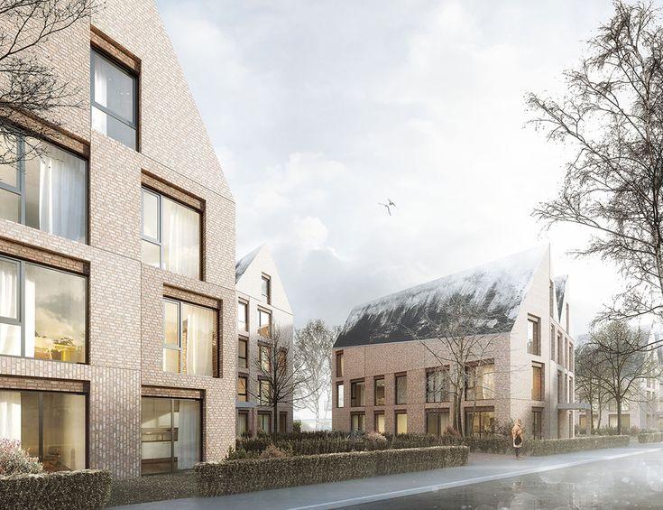 ein 1. Preis Zur Überarbeitung aufgefordert: Perspektive vom Stephanikirchhof, © Hilmes Lamprecht Architekten BDA