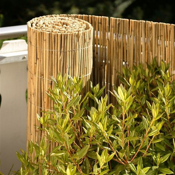 Bamboo Fence Ideas For Outdoor Privacy Balcony