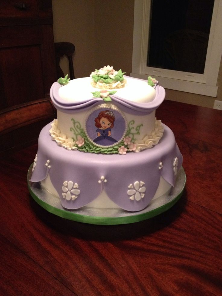 princess sofia the first cake my cakes pinterest princess sofia cake and cake birthday. Black Bedroom Furniture Sets. Home Design Ideas