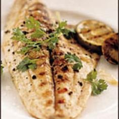 Grilled Pompano With Tangy Ginger Sauce (via www.foodily.com/r/Qb4mySY6kt)