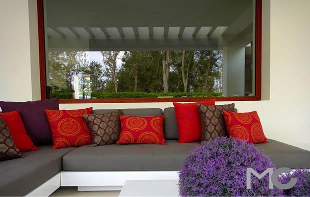Terraza diseño por Mariangel Coghlan interiorismo.