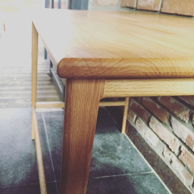 oak table (오크 원목 테이블)