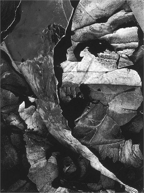 Minor White, Moencopi Strata, Capitol Reef, Utah, 1962. Gelatin Silver Print via andy obrien, via Flickr.