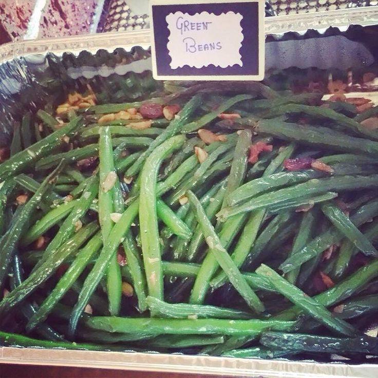 Green beans ..party food