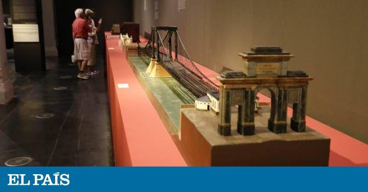 Ingeniería en miniatura La Fundación Juanelo presenta 44 modelos a escala de grandes hitos de la historia de la ingeniería