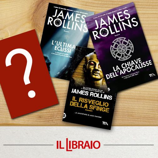 Un maestro dell'avventura James #Rollins ! Quale tra i suoi libri aggiungete per completare i #Fantastici4 ?