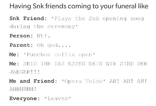 can one of u guys come to my funeral and do this