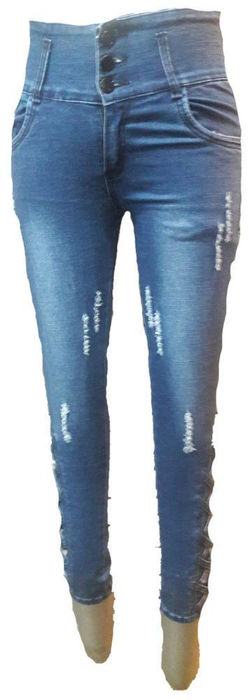 Ladies/Women/ Girls Stretchable Slimfit funkylook Jeans