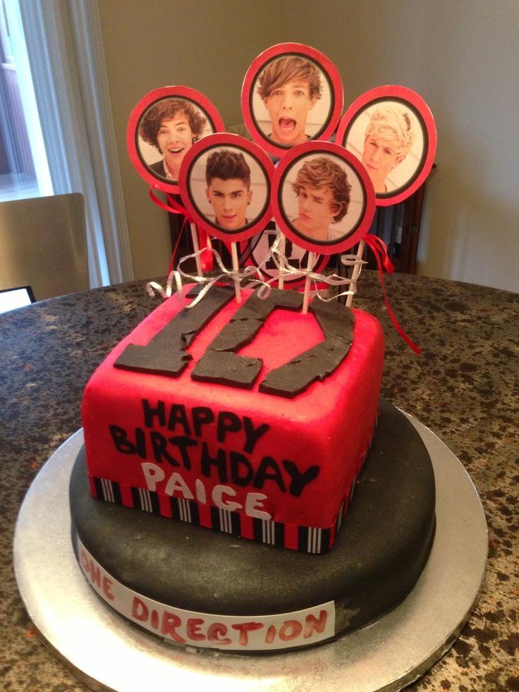 81 best 1D birthday cake ideas images on Pinterest Cake ideas