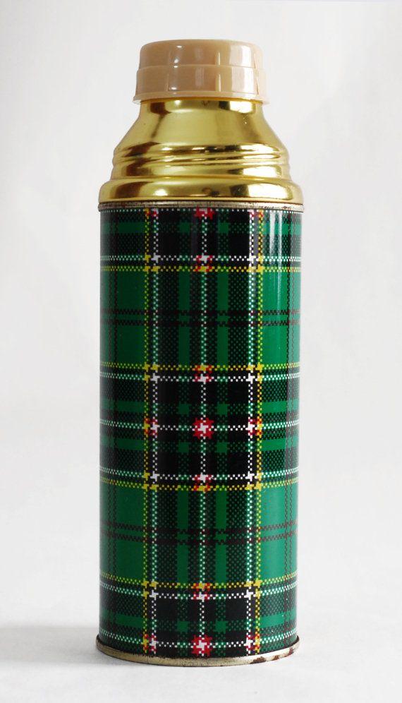https://www.etsy.com/listing/167990399/vintage-60s-thermos-retro-plaid-tin-and