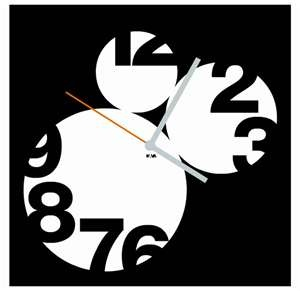 Unusual clock