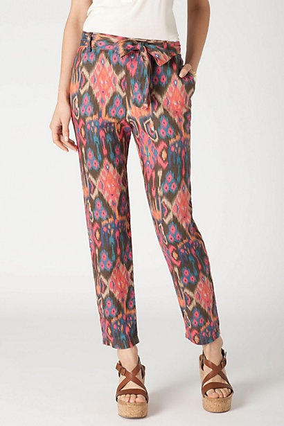 IKAT pants - would LOVE these !