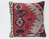 large kilim pillow 20x20 bohemian decor interior designing ethnic cushion cover contemporary pillow indie pillow cover floral pillows 27250