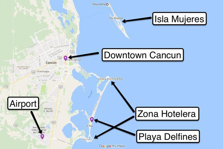 Cancun and Zona Hotelera