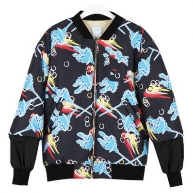 $232SHINee Jacket Unbounded awe 2088 MA-1 PADDING JUMPER/CG KPOP STYLES.com