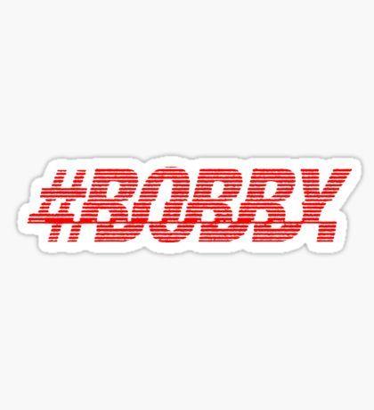 BOBBY (iKON) - The Mobb (HOLUP) Sticker