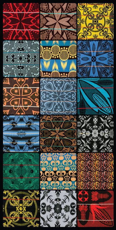 Africa | Lesotho | Basotho blanket designs
