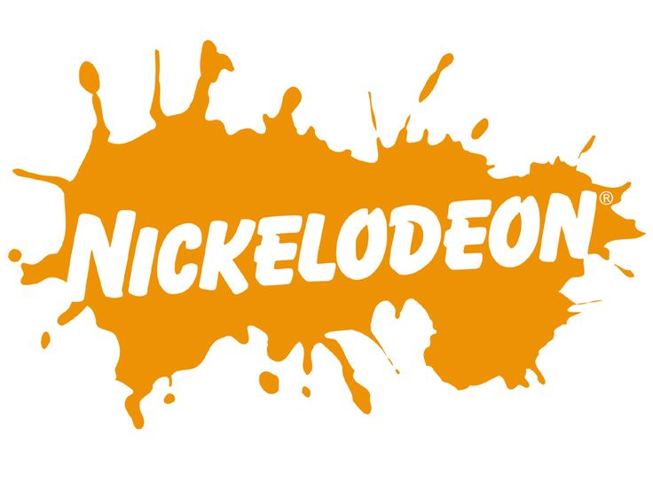 The old Nickelodeon logo #90s great for a cake topper