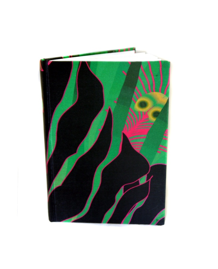 Modern Love Large Luxury A5 Notebook- Jungle
