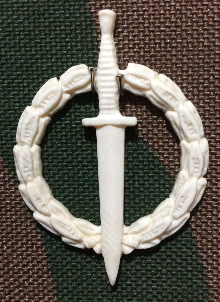 Operator award in ivory