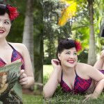 MUAH by Miss Chrissy - The Lindy Charm School For Girls - Old Hollywood Glamour, The Cat Meow's and a 50′s Bombshell – Brooke Orchard and The Lindy Charm School Team up Again – Here's some B4 and After Makeovers..