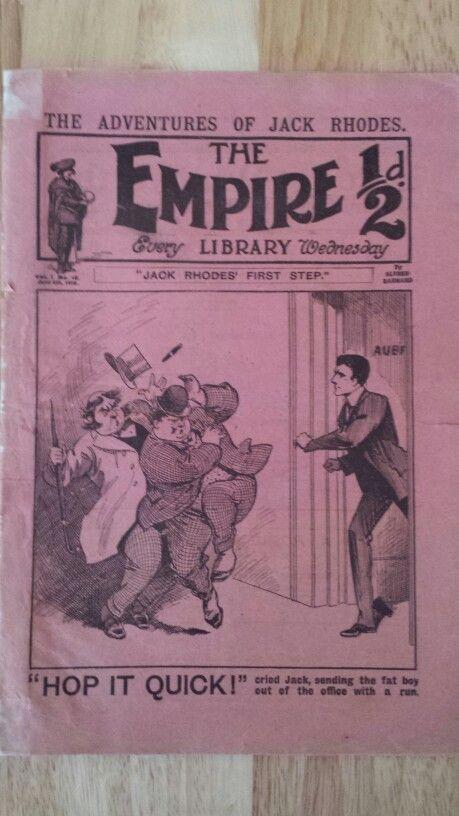 The Empire Library #16 from 1910 - Rare British comic magazine