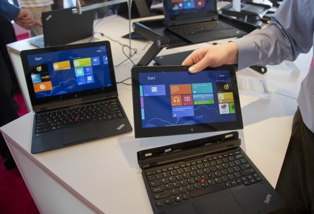 the windows smart tablet because it can convert in to a computer I found out about it from TV