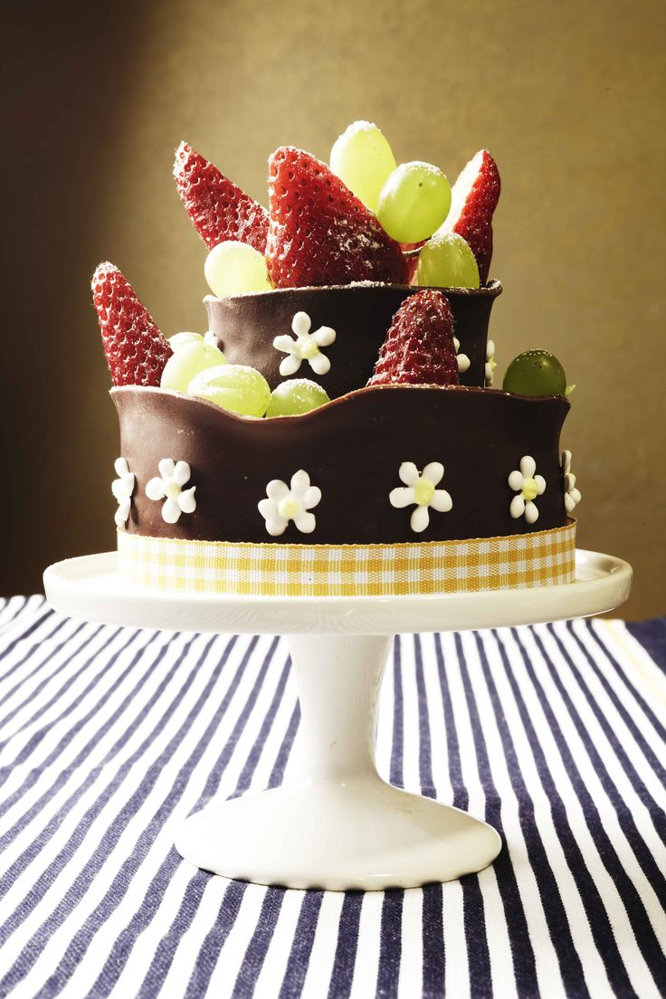 luxurious chocolate cake for special occasions #celebration #chocolate