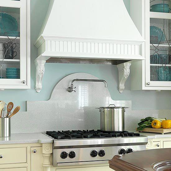 Tile backsplash ideas for behind the range kitchen - Ideas for backsplash behind stove ...