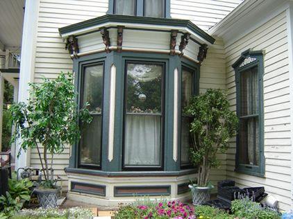 Italianate Bay window colors | Porches n Bay Windows ...