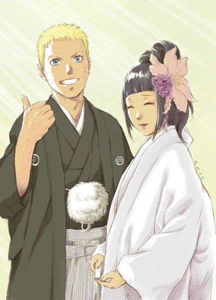 naruto and hinata wedding - Google Search