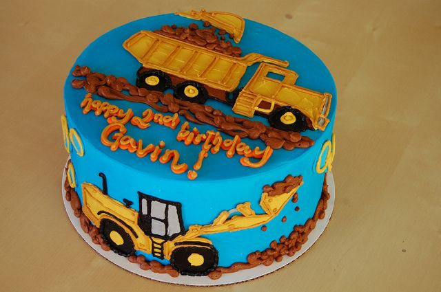 Birthday cake for the boys