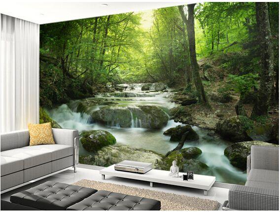 1000 ideas about papier peint paysage on pinterest bureau exotique chambre de voyage and. Black Bedroom Furniture Sets. Home Design Ideas
