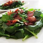 Hot bacon dressing for spinach salad! I usually have to add more corn starch to the recipe to thicken