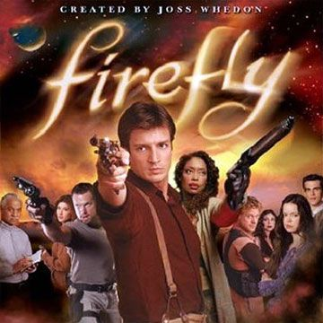Firefly - -  Do you like Nathan Fillion in Castle?  Check him out in Firefly.  This show is a hoot!