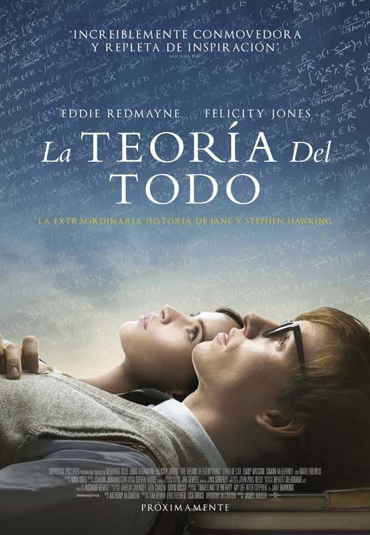 The Theory of Everything (Spanish) 11×17 Movie Poster (2014)
