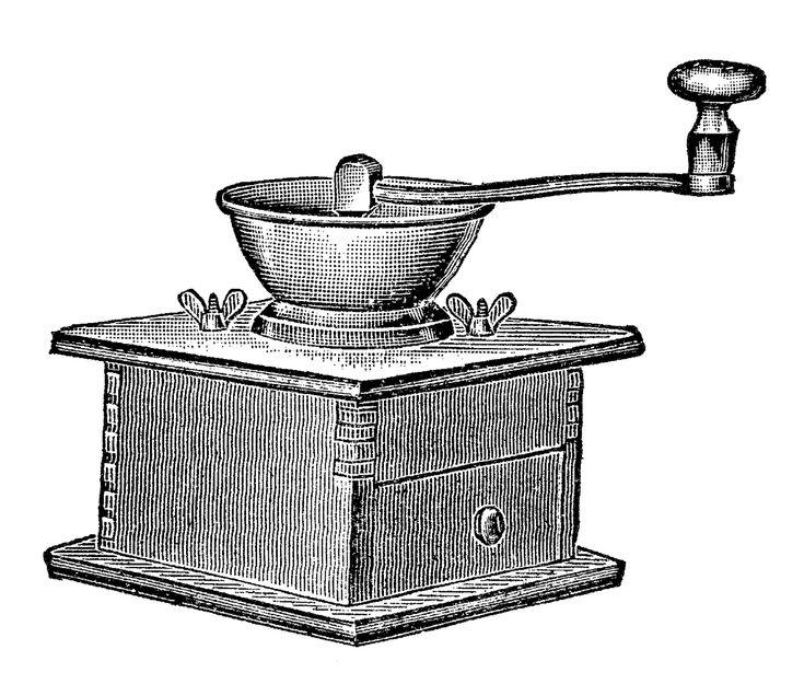 265 best transfer kitchen images on Pinterest Graphics fairy - copy coffee grinder blueprint