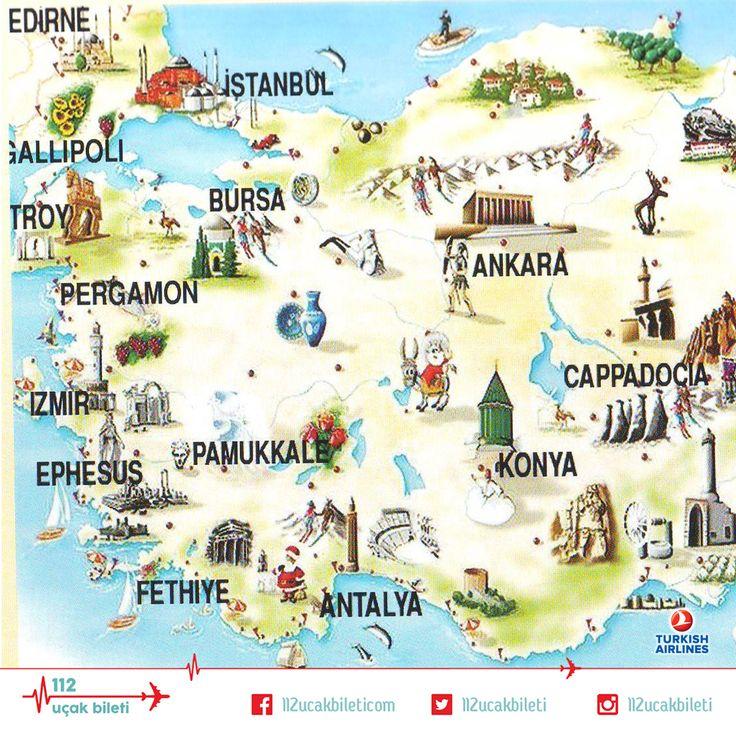 Türkiye keşfedilmek için sizi bekliyor. #uçakbileti #seyahat #gezgin