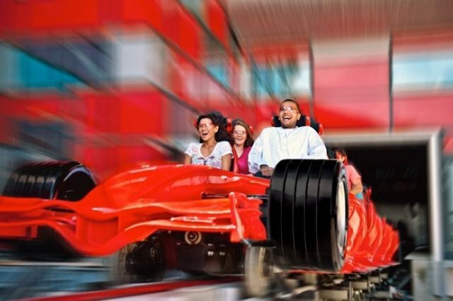 (ferrariworldabudhabi.com) World's Most Extreme Holiday Activities: Ride the world's fastest roller coaster in Abu Dhabi-Never mind Alton Towers, you'll find the fastest roller coaster in the world, the Formula Rossa, at the Ferrari World Abu Dhabi. The world's largest indoor theme park, it was created around the classic double-curve body shell design of a Ferrari car. As well as the  Formula Rossa, which powers to 240 kmh in less than five seconds, the park also features over 20 thrilling…