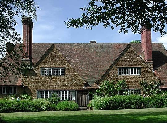 Munstead Wood, Surrey, England -- home of famous garden designer, Gertude Jeckyl, designed by Edwin Lutyens