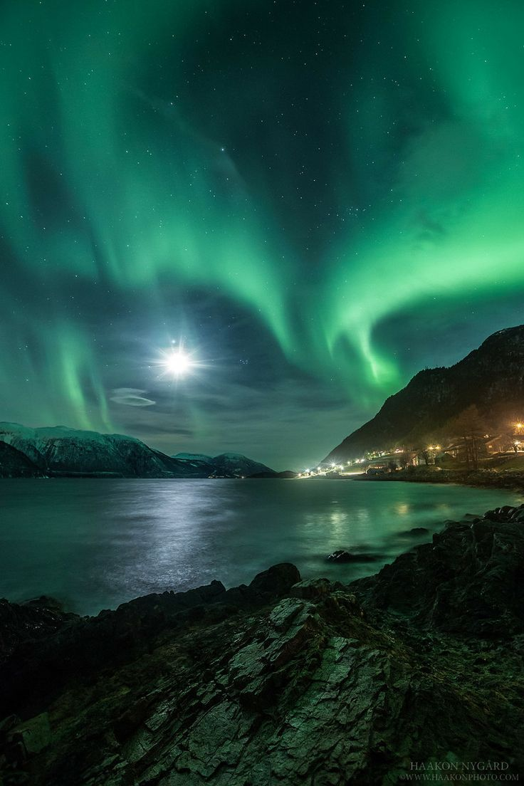 Northern Lights Sunndal Norway Aurora Borealis