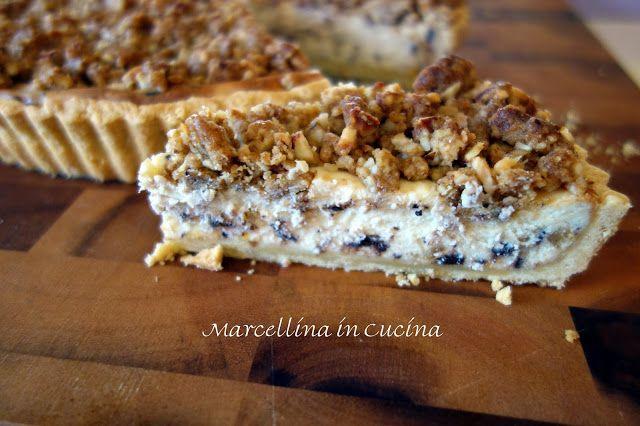 Marcellina in Cucina: Ricotta Crumble Tart - November 2015 daring bakers...