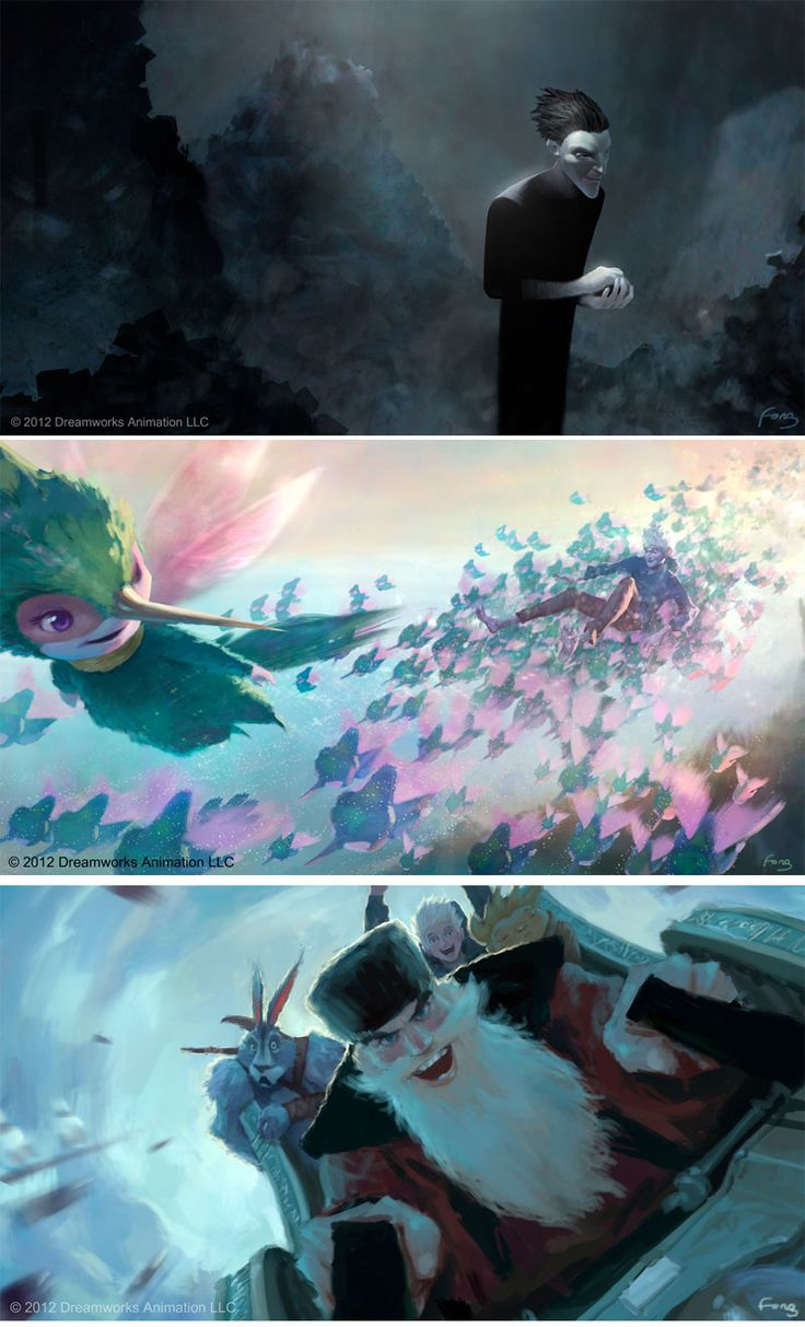 Concept art - Rise of the Guardians   Rise of the ...
