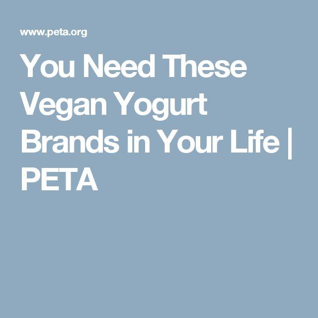 You Need These Vegan Yogurt Brands in Your Life | PETA