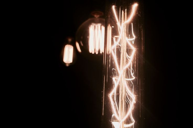 Vintage lights in the night