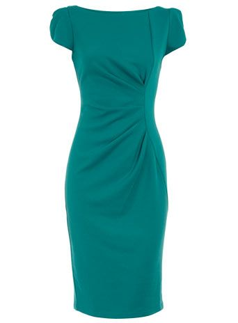Dorothy Perkins Jade Drape Shift Dress